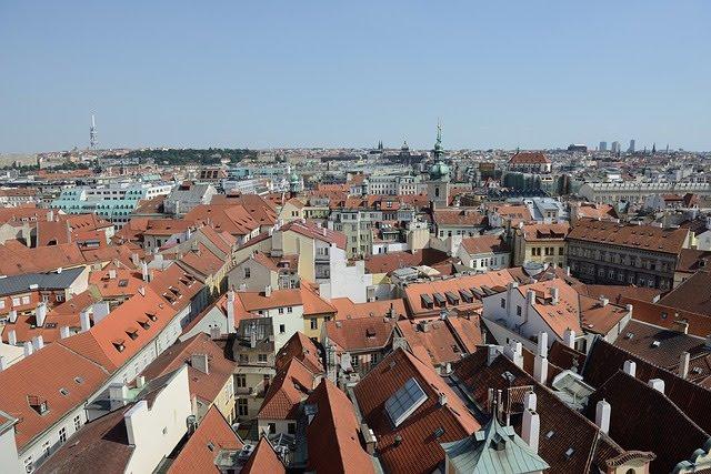 גגות העיר פראג